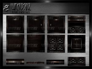 Dark Mocha - $3.00 - 18 Textures