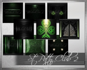 St. Patty Club 2 - 31 Textures