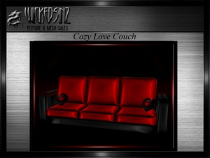 Valentine Cozy Love Couch - $4.00