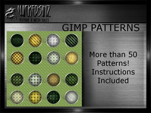St. Pattys Patterns for GIMP - $5 - Over 50 Patterns!