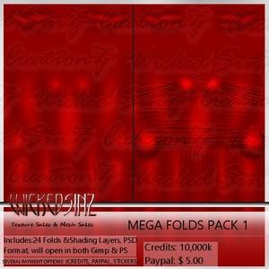 Mega Folds Pack 1