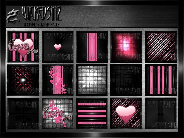 Love Struck - $5.00 - 25 Textures