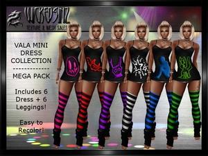 Vala Mini Dress Collection - Mega Pack $6.00
