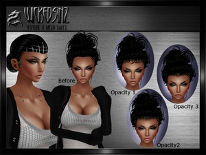 Baby Hair Base Mesh and Opacities Bundle - $7.00