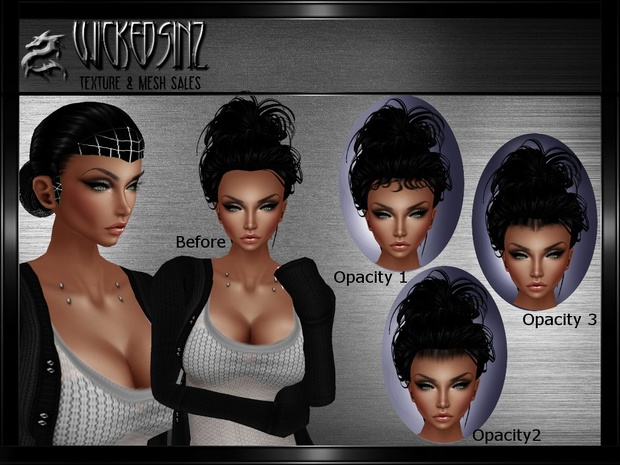 Baby Hair Base Mesh And Opacities Bundle 7 00