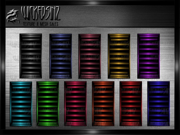 Blinds Pack 1 - 14 Colors + Opacity $ 1.00