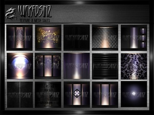 NEW YEARS 2016 - 26 Textures $ 5.00
