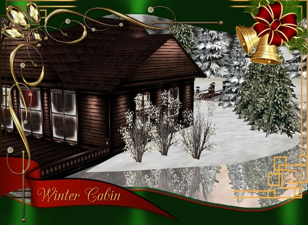 Winter Cabin Mega Pack - 47 Textures $ 9.00