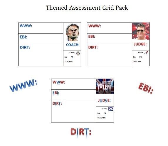 Themed Assessment Complete Pack