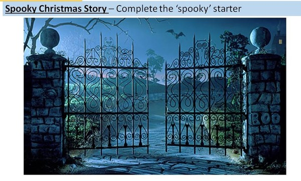 Spooky Christmas Story - Full Lesson