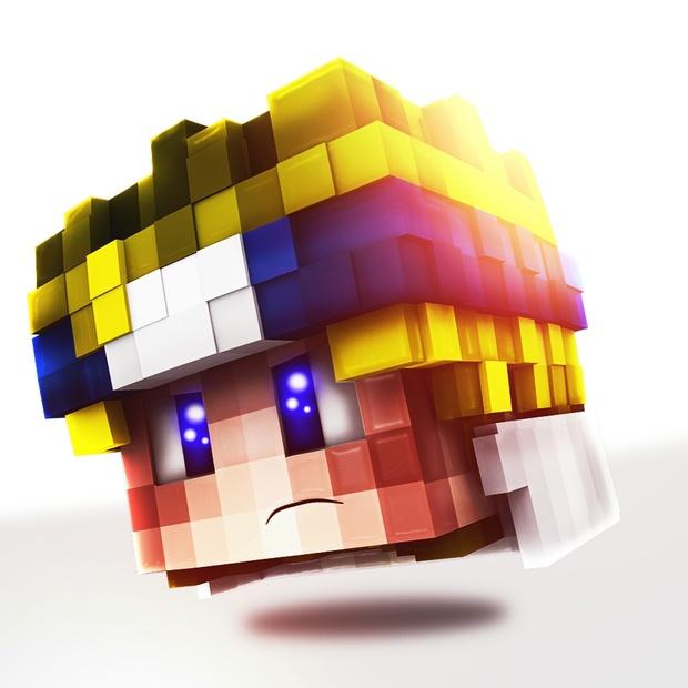 Head PP de Minecraft con tu Skin