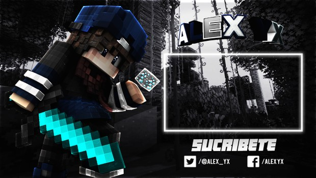 OUTRO DE MINECRAFT DE TU SKIN CON EFECTOS EN After Effects