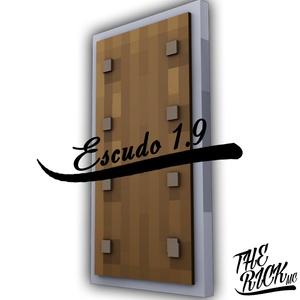 ESCUDO DE MINECRAFT 1.9 RIG CINEMA 4D