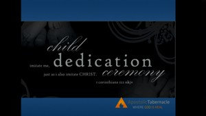 10-02-16am Fall Child Dedication Service 2016