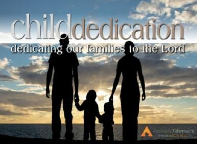 Fall Child Dedication '17