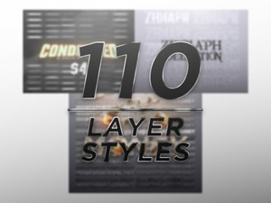 110 LAYER STYLES (All My Packs)
