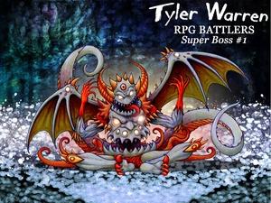 *NEW*  Super Boss Series #1 - Tyler Warren RPG Battlers