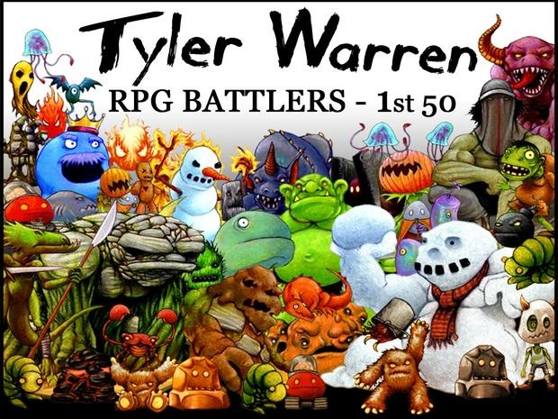 Tyler Warren RPG Battlers - 1st 50 Monsters