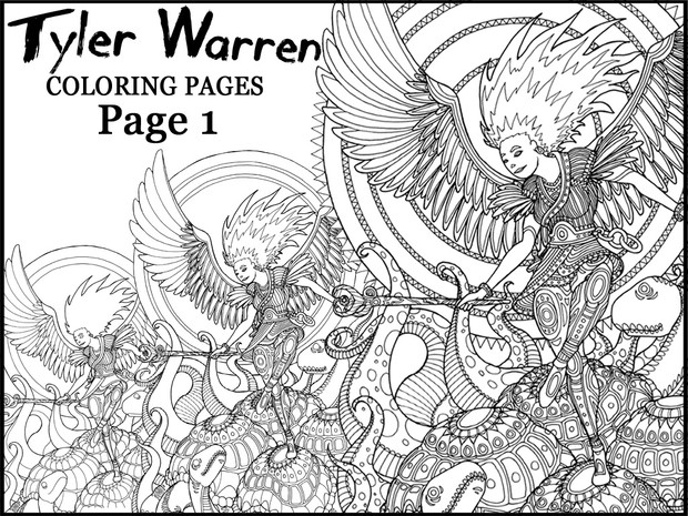 Page 1 - Tyler's Printable Coloring Pages
