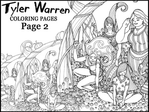 Page 2 - Tyler's Printable Coloring Pages