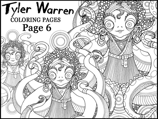 Page 6 - Tyler's Printable Coloring Pages