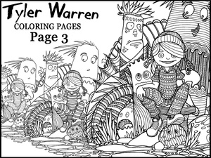 Page 3 - Tyler's Printable Coloring Pages