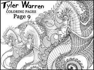Page 9 - Tyler's Printable Coloring Pages