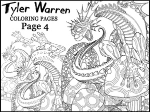 Page 4 - Tyler's Printable Coloring Pages