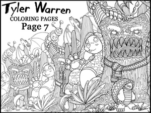 Page 7 - Tyler's Printable Coloring Pages