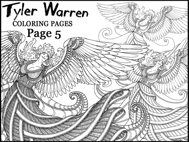Page 5 - Tyler's Printable Coloring Pages