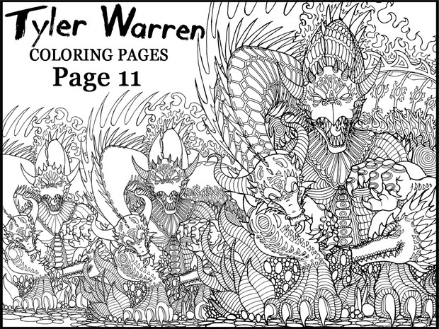 Page 11 - Tyler's Printable Coloring Pages