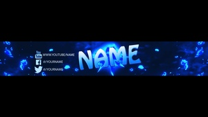 Professional Youtube Banner