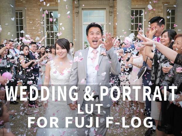 WEDDING & PORTRAIT LUT FOR FUJI F-LOG