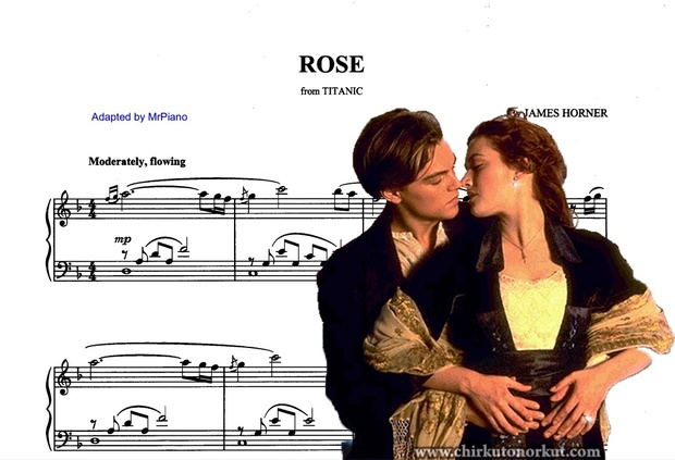 Titanic- Rose's theme (piano sheet)