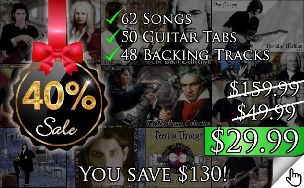 Ultimate Neo-Classical Collection (Extended) - 62 Songs, 50 Tabs, 48 Backing Tracks *40% SALE*