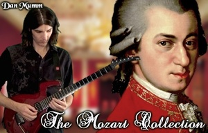 The Mozart Collection - Classical Metal Songs, TABs and Backing Tracks - Dan Mumm