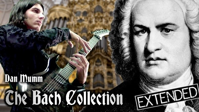 Dan Mumm's Extended Bach Collection - 9 Songs, 10 Guitar TABs and 9 Backing  Tracks