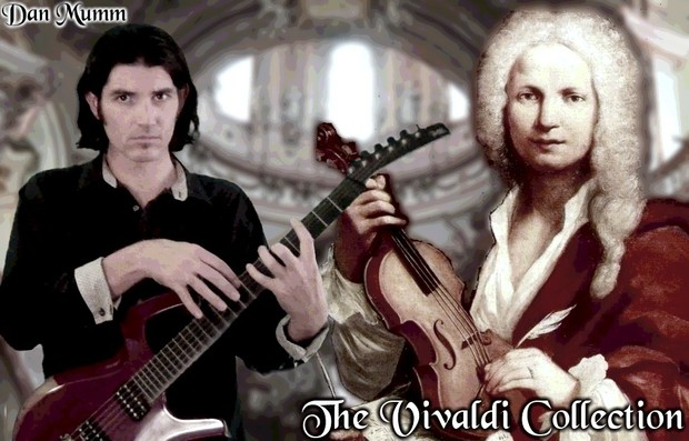 The Vivaldi Collection - Classical Metal Songs, TABs and Backing Tracks - Dan Mumm