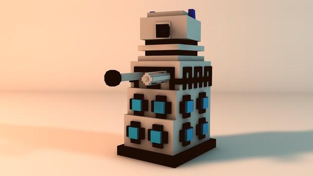 [Minecraft] Dalek Rig Version 5