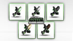 Green Swords Model Pack || by;;Saito