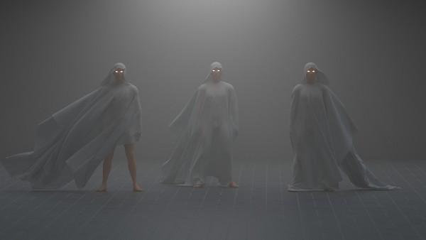 Daily Render Human Models + Cloth