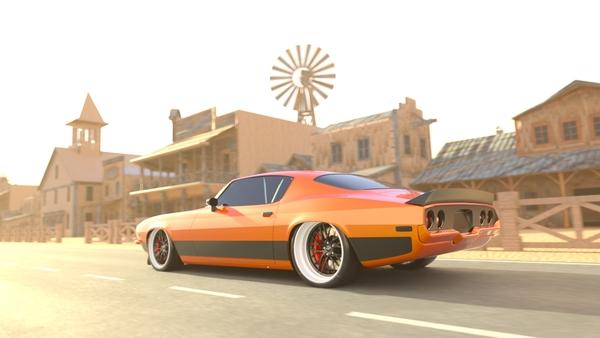 Wild West Muscle Car Loop