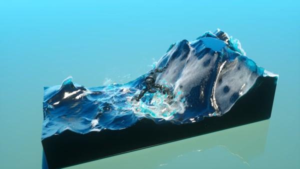 Houdini Waves with foam Tutorial