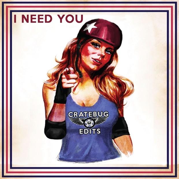 WAV - I NEED YOU // CRATEBUG EDIT