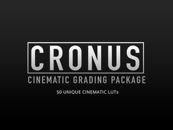 CRONUS - CINEMATIC GRADING PACKAGE