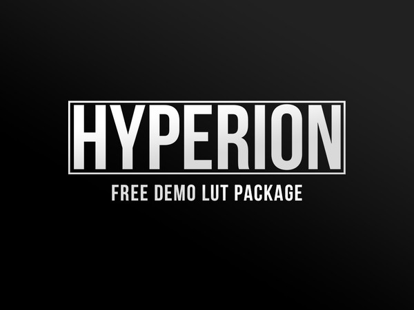 HYPERION - FREE DEMO LUT PACKAGE
