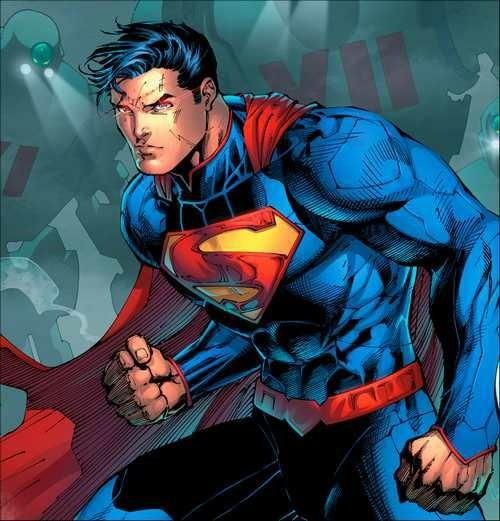 New 52 Superman Dye-Sub Pattern