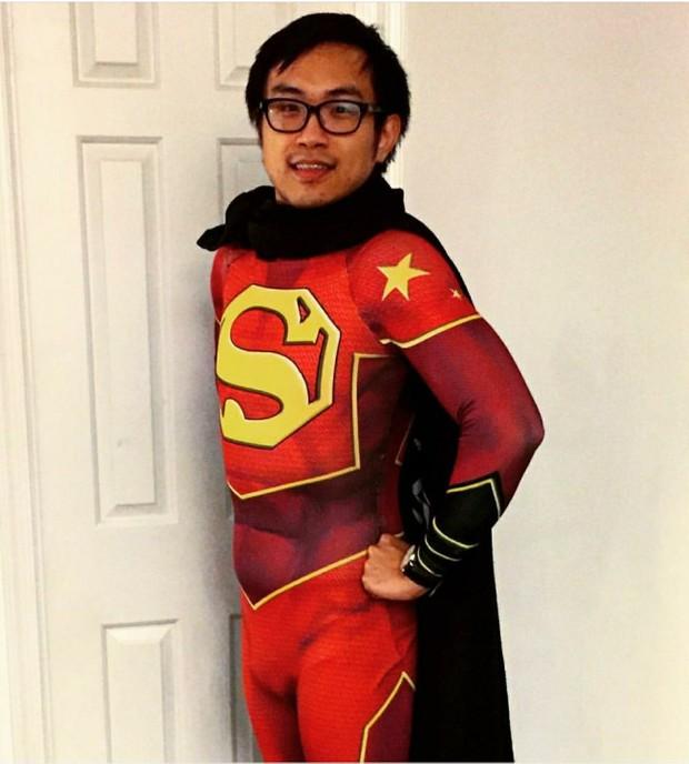 The NEW Super-Man Dye-Sub Pattern ....aka Chinese Superman