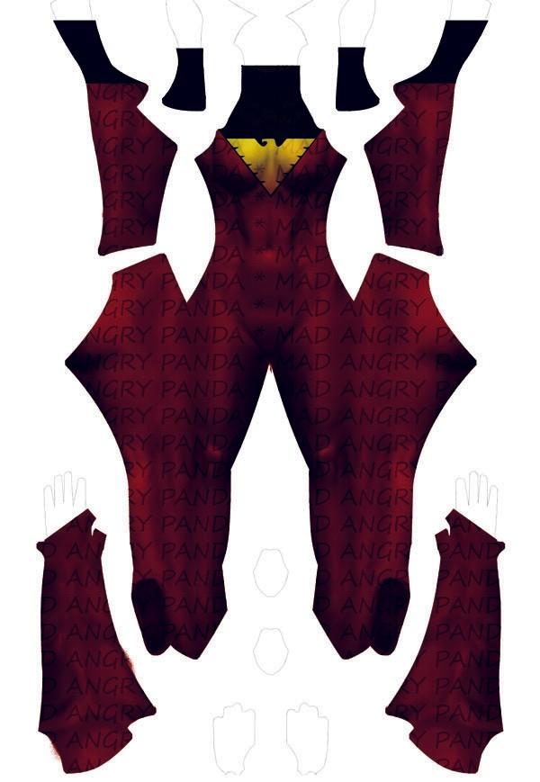 Jean Grey / Dark Phoenix Dye-Sub Digital Pattern