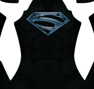 Superman Lives (black) Dye-Sub Pattern